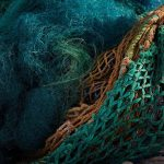 Ocean recycle fishnet for Ocean collection by Jørgen & Nanna Ditzel