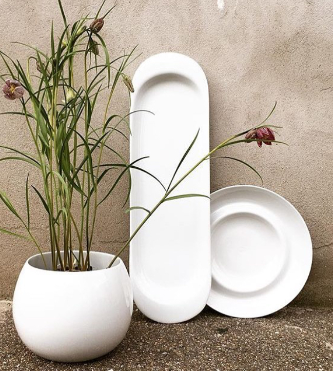 Porcelain collection by Kay Bojesen