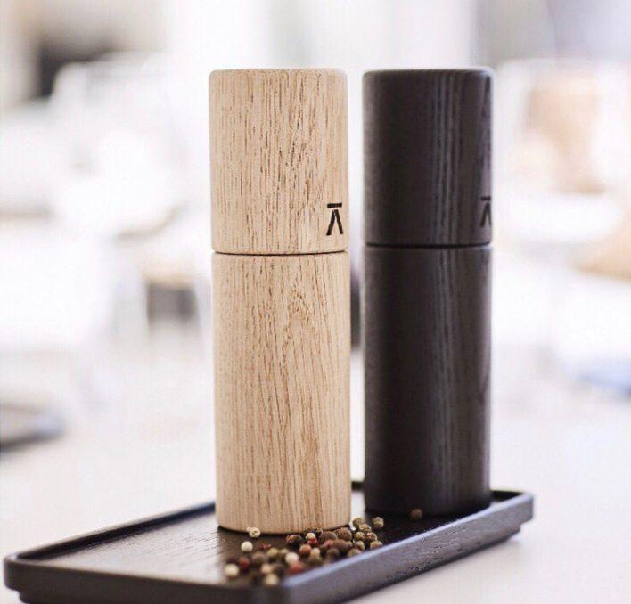Salt & Peber mill by Andersen - Designed by Maria Araghouna