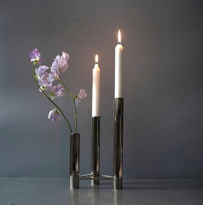 Vista candle holder Design Kay Bojesen