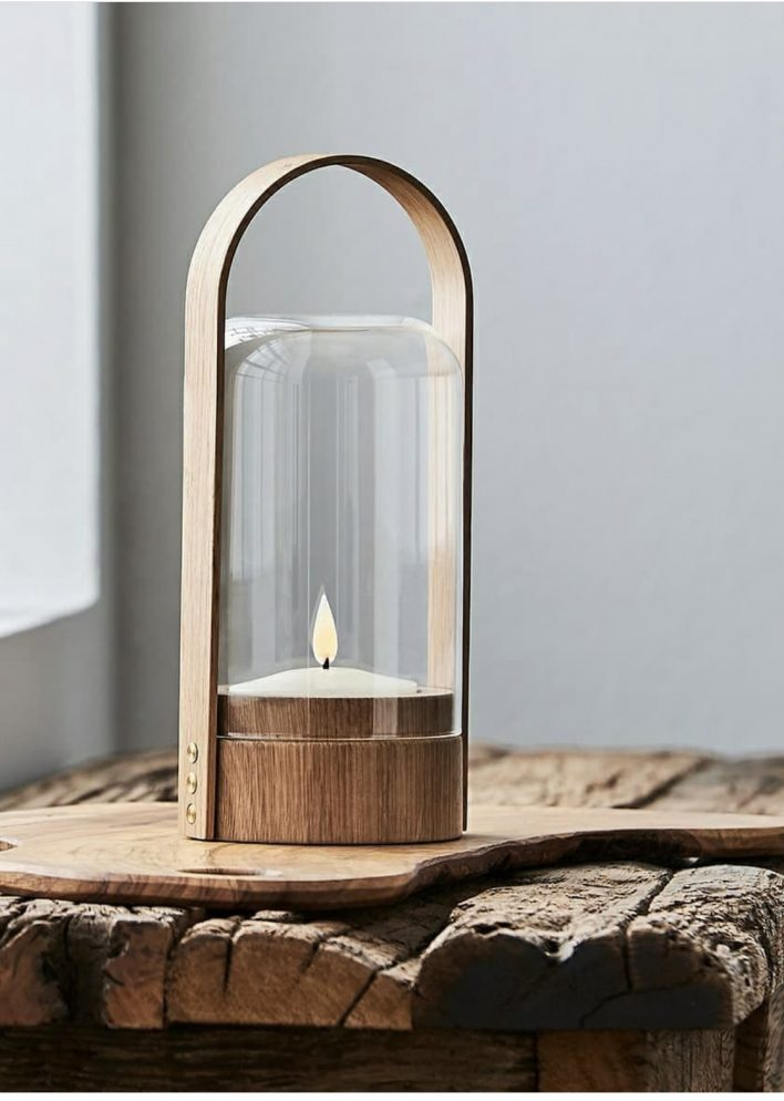 Candle light by Le Klint - Natural oakDesign Philip Bro